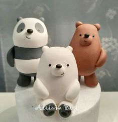 Diy Clay, Clay Crafts, Beautiful Cakes, Amazing Cakes, Winter Wonderland Party, Candy Dispenser, Fun Baking Recipes, Sweets Cake, We Bare Bears