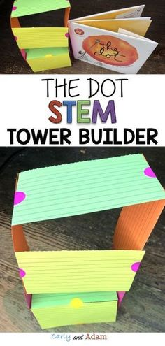 Teach Growth Mindset with STEM! The Dot Tower Builder STEM activity works as a - Education interests Stem Science, Teaching Science, Elementary Science, Science Chemistry, Physical Science, Science Classroom, Classroom Activities, Teaching Kids, Steam Activities