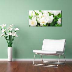 "Картина 98 х 48 см ""Тюльпаны"" (декоративное стекло) 1890 руб. Ссылка для заказа: http://decoretto.ru/art/glass/tyulpanyi-dekorativnoe-steklo/"