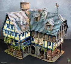 The Ol'Rowdy's Inn by tuskarsart.deviantart.com on @deviantART