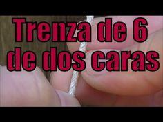 """Trenza de 6: Part 1 """"Pulsera"""" """"El Rincón del Soguero"""" - YouTube"""