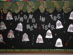 New Years Bulletin Board