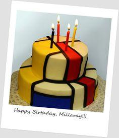 bccakes: A Mondrian Cake!