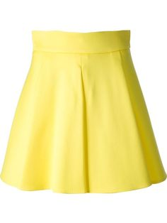 You'll find a great selection of designer pleated skirts at Farfetch. Search from over 2000 designers and hundreds of boutiques for the perfect pleated skirt Yellow Pleated Skirt, 2014 Trends, Cotton Skirt, High Waisted Skirt, Waist Skirt, Flare Skirt, Mini Skirts, Womens Fashion, Polyvore