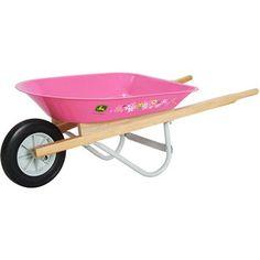 John Deere Wheelbarrow, Pink