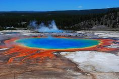 ❦Grand Prismatic Spring at Yellowstone National Park