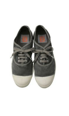 Grey vintage tennis Bensimon