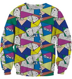 BMO Triangles sweater, Mr. GUGU & Miss GO
