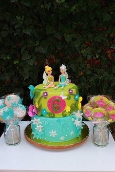 Tink & Periwinkle cake