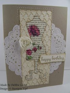 Deb's Stampin' Style: All Dressed Up  Stampin' Up!