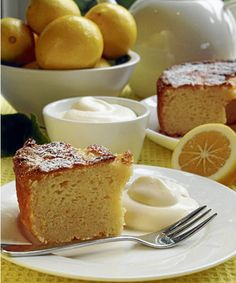 Lemon Yoghurt Cake - Simon & Alison Holst.  This cake is absolutely devine.  So incredibly moist and decadent.  Very easy to make, I'll be making sure I always have the ingredients on hand.  (I used strawberry yoghurt :))