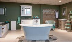 Prachtige shop in shop in van Van Heck in onze showroom Showroom, Toilet, Bathtub, Van, Bathroom Ideas, Shopping, Home, Standing Bath, Bath Tub