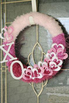 V Day wreath