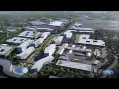 Ford Transforming Dearborn Campus - YouTube