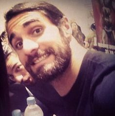Seth with roman peeking from behind