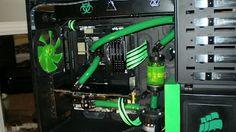 Computer Case Modding  Gr33n Gobl1n  Corsair Obsidian 800D  by AciD_RaiN  www.modderdiaries.com