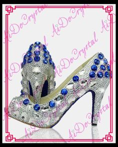 78 Best Crystal shoes images  c5b30edaeb6c