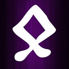 Othala Rune Meanings Othala is the eighth and final rune of the aett. The elder futhark is the oldest of the runic alphabets. Elder Futhark Rune Meanings, Elder Futhark Runes, Runes Meaning, Runic Alphabet, Free Tarot, Past Life, Meant To Be, Old Things, Symbols