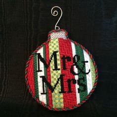 Finishing of the Mr&Mrs ornament