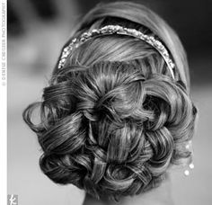 My bridal hairdo