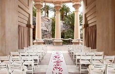 6 classy Vegas wedding venues -- Valley of the Falls venue, Mandalay Bay