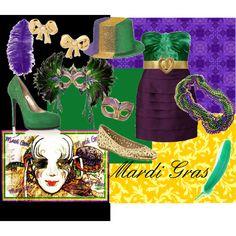 mardi gras fun - Party outfit for Mardi Gras (What to wear - Mardi Gras)