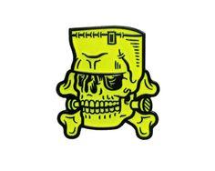 MONSTER 1.5 Enamel Pin Glow-in-the-Dark by nikscarlett on Etsy