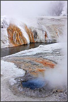 Yellowstone National Park; photo by .Sandra Kreuzinger