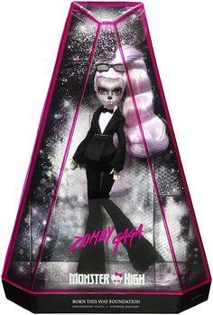 Monster High Zomby GaGa Doll - Born This Way!
