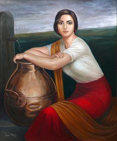 pintura de Julio Romero de Torres - Buscar con Google