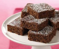 Guilt-Free Double Chocolate Brownies -- These chocolate dessert bars are low in calories and have only 4 grams of fat per serving.