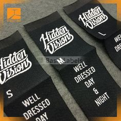 300 clothing labels custom only text/letter by wovenlabelZ on Etsy