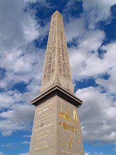 #Obélisque - place de la #Concorde #Paris, France http://VIPsAccess.com/luxury-hotels-paris.html