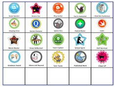 Class badges ideas for Ss