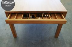 Wittmann Tisch || Josef || special edition || #solidwood #table www.wittmann-gmbh.at Outdoor Furniture, Outdoor Decor, Solid Wood, Table, Home Decor, Garden Furniture Outlet, Tables, Interior Design, Home Interiors
