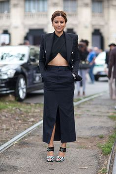 Street Style: Milan Fashion Week Spring 2014 . . . . My note:  the shoes.