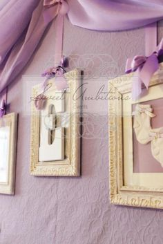 This site is amazing for all your party needs. Cute purple baby shower idea for a baby girl. Simply adorable. :)