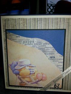Birthday card 1 - father #scrapbooking #handmade #cards #father #birthday