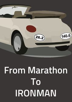 From Marathon to IRONMAN