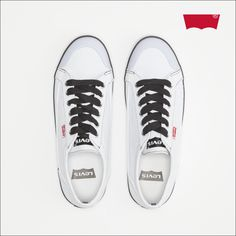 """#Shoes #trainers Levi's® Shoes 219043 """"Regular White"""""""
