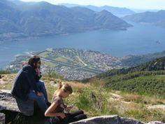 Cimeta, looking down on Ascona