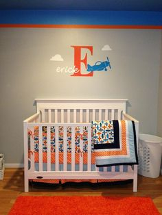 Project Nursery - Graphic with initial and full name.