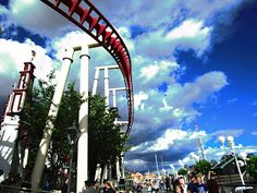 Travelling with camera obscura: Gröna Lund - Why this amusement park is attractive for me?