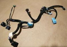 2002 2006 Dodge Ram Passrnger Power Seat Track Harness Wires Loom