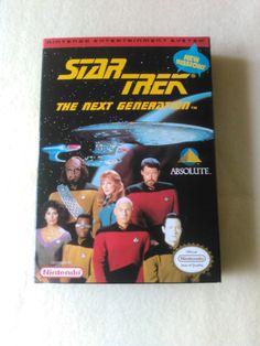 Star Treck The Next Generation Nintendo Game 1985