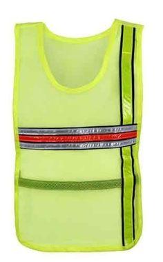 High-vis cycling vest