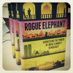 ROGUE ELEPHANT by Simon Denyer is our BOOK of the month!