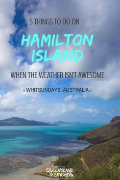 Keen to visit tropical paradise Hamilton Island in the Whitsundays, Australia? The weather is usually brilliant but if you do end up with overcast skies, here are five things to do on Hamilton Island to save your holiday! 🌐 Queensland & Beyond. Queensland Australia, Australia Travel, Best Holiday Places, Housing Jobs, Tropic Of Capricorn, The Whitsundays, Hamilton Island, Airlie Beach, Dream City