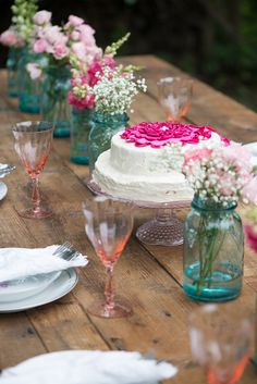 Chic and whimsical countryside wedding inspiration - see more at http://fabyoubliss.com