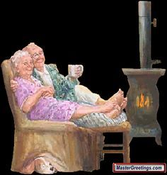Make Your Own Greetings Photo Humour, Grow Old With Me, Illustration Noel, Growing Old Together, Old Couples, Grands Parents, Old Folks, Animation, Humor Grafico